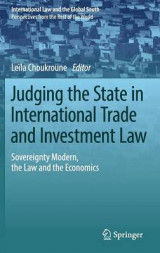 Omslag - Judging the State in International Trade and Investment Law