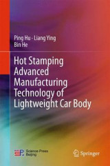 Omslag - Hot Stamping Advanced Manufacturing Technology of Lightweight Car Body