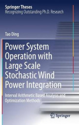 Omslag - Power System Operation with Large Scale Stochastic Wind Power Integration