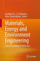 Omslag - Materials, Energy and Environment Engineering 2017