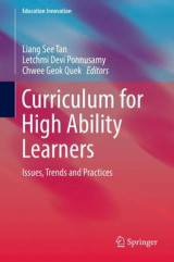 Omslag - Curriculum for High Ability Learners 2017