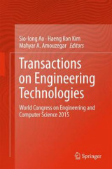 Omslag - Transactions on Engineering Technologies