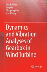 Omslag - Dynamics and Vibration Analyses of Gearbox in Wind Turbine