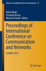 Omslag - Proceedings of International Conference on Communication and Networks