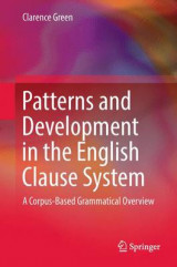 Omslag - Patterns and Development in the English Clause System