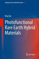 Omslag - Photofunctional Rare Earth Hybrid Materials