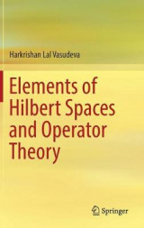 Omslag - Elements of Hilbert Spaces and Operator Theory