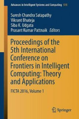 Omslag - Proceedings of the 5th International Conference on Frontiers in Intelligent Computing: Theory and Applications