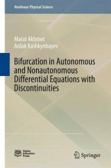 Omslag - Bifurcation in Autonomous and Nonautonomous Differential Equations with Discontinuities