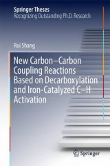 Omslag - New Carbon-Carbon Coupling Reactions Based on Decarboxylation and Iron-Catalyzed C-H Activation