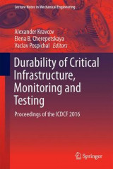 Omslag - Durability of Critical Infrastructure, Monitoring and Testing 2017