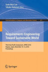 Omslag - Requirements Engineering Toward Sustainable World