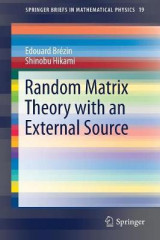Omslag - Random Matrix Theory with an External Source