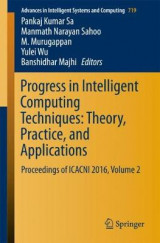 Omslag - Progress in Intelligent Computing Techniques: Theory, Practice, and Applications