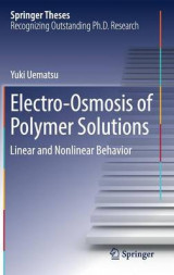 Omslag - Electro-Osmosis of Polymer Solutions