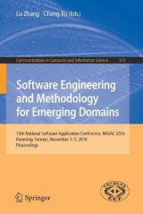 Omslag - Software Engineering and Methodology for Emerging Domains