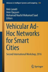 Omslag - Vehicular Ad-Hoc Networks for Smart Cities 2017