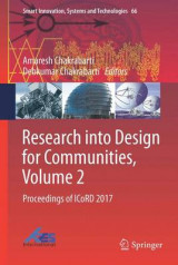 Omslag - Research into Design for Communities 2017: Volume 2