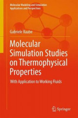 Omslag - Molecular Simulation Studies on Thermophysical Properties
