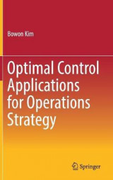 Omslag - Optimal Control Applications for Operations Strategy