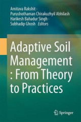 Omslag - Adaptive Soil Management : From Theory to Practices 2017