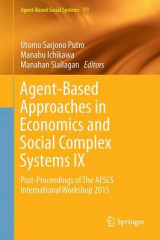 Omslag - Agent-Based Approaches in Economics and Social Complex Systems 2017: No. 9