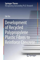 Omslag - Development of Recycled Polypropylene Plastic Fibres to Reinforce Concrete