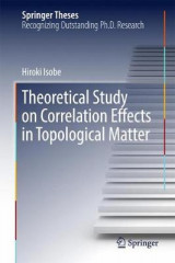 Omslag - Theoretical Study on Correlation Effects in Topological Matter