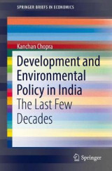 Omslag - Development and Environmental Policy in India
