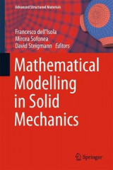 Omslag - Mathematical Modelling in Solid Mechanics