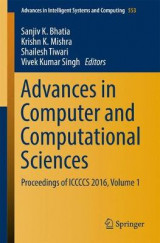 Omslag - Advances in Computer and Computational Sciences: Volume 1