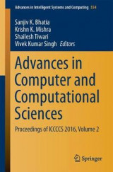 Omslag - Advances in Computer and Computational Sciences