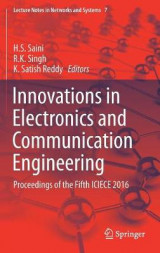 Omslag - Innovations in Electronics and Communication Engineering