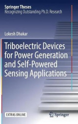 Omslag - Triboelectric Devices for Power Generation and Self-Powered Sensing Applications