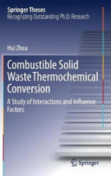 Omslag - Combustible Solid Waste Thermochemical Conversion