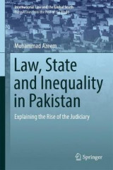 Omslag - Law, State and Inequality in Pakistan
