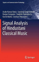 Omslag - Signal Analysis of Hindustani Classical Music