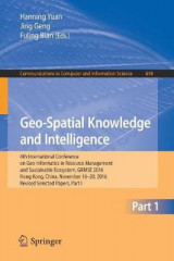 Omslag - Geo-Spatial Knowledge and Intelligence: Part I