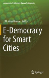 Omslag - E-Democracy for Smart Cities 2017