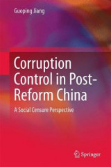 Omslag - Corruption Control in Post-Reform China