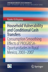 Omslag - Household Vulnerability and Conditional Cash Transfers 2017