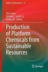 Omslag - Production of Platform Chemicals from Sustainable Resources