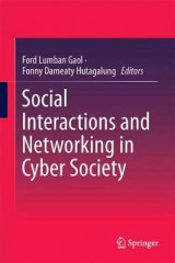 Omslag - Social Interactions and Networking in Cyber Society