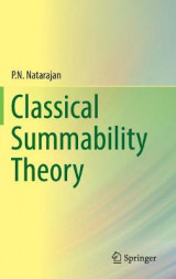 Omslag - Classical Summability Theory 2017