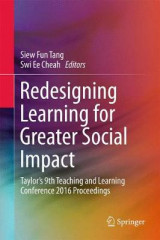 Omslag - Redesigning Learning for Greater Social Impact
