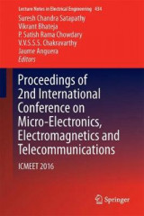 Omslag - Proceedings of 2nd International Conference on Micro-Electronics, Electromagnetics and Telecommunications