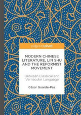 Omslag - Modern Chinese Literature, Lin Shu and the Reformist Movement