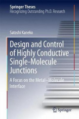 Omslag - Design and Control of Highly Conductive Single-Molecule Junctions