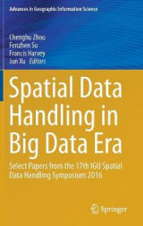 Omslag - Spatial Data Handling in Big Data Era 2017