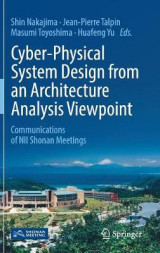 Omslag - Cyber-Physical System Design from an Architecture Analysis Viewpoint